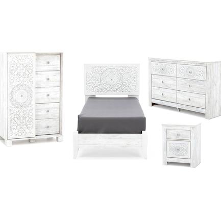 Hanna 4-pc. Twin Bedroom Set